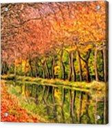 Autumn In Provence Acrylic Print