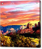 Autumn In Red Rock State Park Acrylic Print