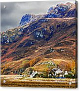Autumn In Scotland In Dornie Acrylic Print