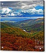 Autumn In Shenandoah Park Acrylic Print