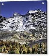 Autumn In The Alps 1 Acrylic Print