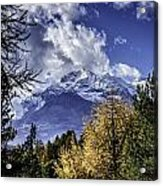 Autumn In The Alps 2 Acrylic Print