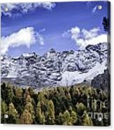 Autumn In The Alps Acrylic Print