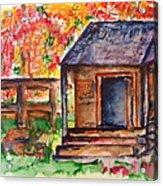 Autumn In The Backwoods Acrylic Print