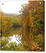 Autumn In The Butternut Valley-five Acrylic Print