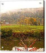 Autumn In The Butternut Valley-six Acrylic Print