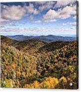 Autumn In The Blue Ridge Mountains Acrylic Print