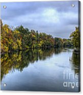 Autumn In The River Acrylic Print