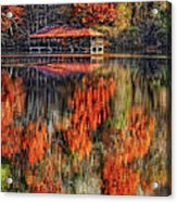 Autumn In The Smokey's Acrylic Print
