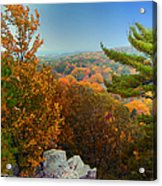 Autumn In The Valley Acrylic Print