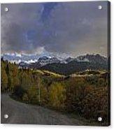 Autumn Journey Acrylic Print