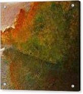 Autumn Lake View  Acrylic Print