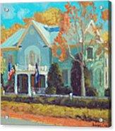 Autumn Magic Claiborne House Acrylic Print