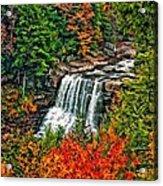 Autumn Magic Paint Acrylic Print