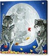 Autumn Moon Acrylic Print