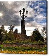 Autumn Morning At Symphony Circle V2 Acrylic Print