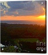 Autumn Morning Over Wailua Acrylic Print