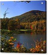 Autumn Mountain View Acrylic Print