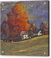 Autumn On Airyhill Acrylic Print
