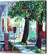Autumn On East Main Acrylic Print