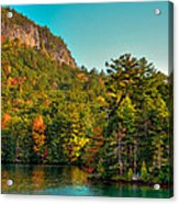 Autumn On Lake George Acrylic Print