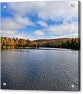 Autumn On Lake Plumbago Acrylic Print
