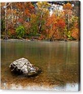 Autumn On Meramec River Acrylic Print