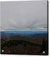 Autumn On The Blue Ridge Acrylic Print