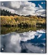 Autumn On The Klamath 11 Acrylic Print