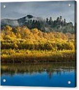 Autumn On The Klamath 2 Acrylic Print