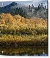 Autumn On The Klamath 4 Acrylic Print