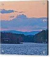 Autumn On The Lake Acrylic Print