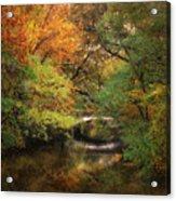 Autumn On The River Acrylic Print