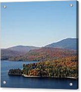 Autumn Over Moosehead Lake Acrylic Print