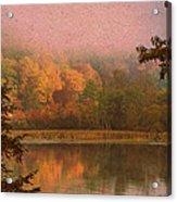 Autumn Paper Acrylic Print