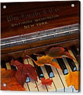 Autumn Piano 1 Acrylic Print