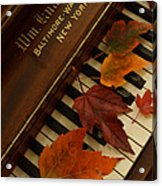 Autumn Piano 11 Acrylic Print