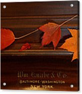 Autumn Piano 3 Acrylic Print