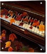 Autumn Piano 7 Acrylic Print