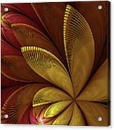 Autumn Plant Acrylic Print