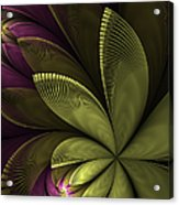 Autumn Plant II Acrylic Print