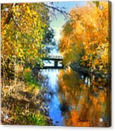 Autumn Reflections On A Friday Afternoon Acrylic Print