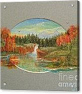 Autumn Reverence Acrylic Print