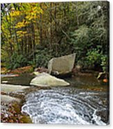 Autumn River Fall Acrylic Print