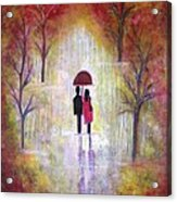 Autumn Romance Acrylic Print