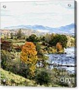Autumn Rural Scene Acrylic Print