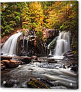 Autumn Rush Acrylic Print