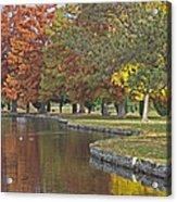 Autumn Serenity Acrylic Print