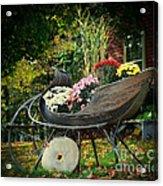 Autumn Sleigh Acrylic Print