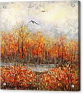 Autumn Song Acrylic Print